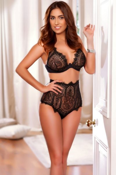 Crystal 36C Slim and Busty Red Head and Paddington Escort in London